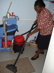 Room Cleaning Training